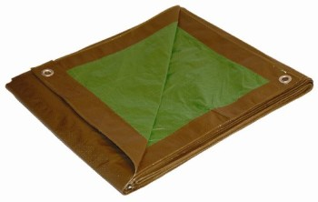 10-x-14-Dry-Top-BrownGreen-Reversible-Full-Size-7-mil-Poly-Tarp-item-110142-0