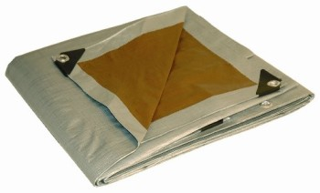 10-x-15-Dry-Top-Heavy-Duty-SilverBrown-Reversible-Full-Size-10-mil-Poly-Tarp-item-210156-0