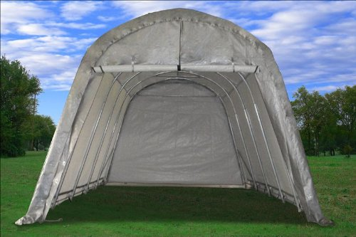 20 39 x12 39 water resistant garage storage canopy shed car for Boat garage on water