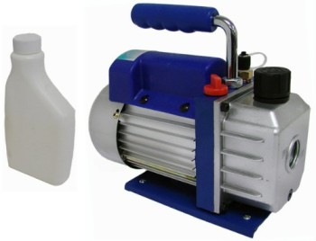 3-CFM-Single-stage-Rotary-Vane-Vacuum-Pump-R410a-R134-Hvac-Ac-Air-Refrigerant-0