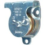 3219BC-1-12-Zinc-Plated-WallCeiling-Mount-Single-Pulley-0