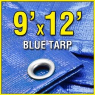 9-X-12-Blue-6-mil-Waterproof-Poly-Tarp-9×12-Tarpaulin-for-Camping-Hiking-Backpacking-Tent-Shelter-Shade-Canopy-etc-0