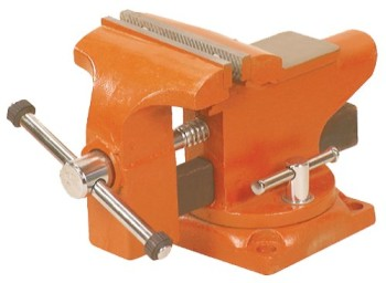 Adjustable-Clamp-23530-Pony-Light-Duty-Bench-Vise-with-Swivel-Base-0