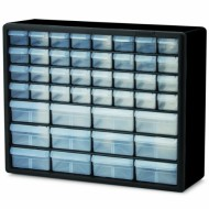 Akro-Mils-10144-D-20-Inch-by-16-Inch-by-6-12-Inch-Hardware-and-Craft-Cabinet-Black-0