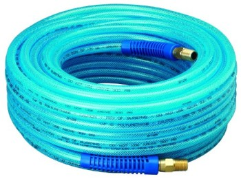 Amflo-12-100E-Blue-300-PSI-Polyurethane-Air-Hose-14-x-100-With-14-MNPT-Swivel-Ends-And-Bend-Restrictor-Fittings-0