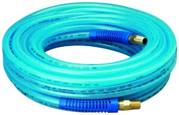 Amflo-12-50E-Blue-300-PSI-Polyurethane-Air-Hose-14-x-50-With-14-MNPT-Swivel-Ends-And-Bend-Restrictor-Fittings-0