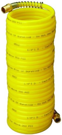 Amflo-4-25E-RET-Yellow-200-PSI-Nylon-Recoil-Air-Hose-14-x-25-With-14-MNPT-Swivel-End-Fittings-0