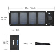 Anker®-14W-Solar-Panel-Foldable-Dual-port-Solar-Charger-for-5V-USB-charged-Devices-Including-GPS-Units-iPhone-iPad-Android-Phones-and-Android-Tablets-0-0