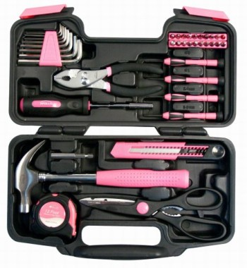 Apollo-Precision-Tools-DT9706P-39-Piece-Pink-General-Tool-Set-0