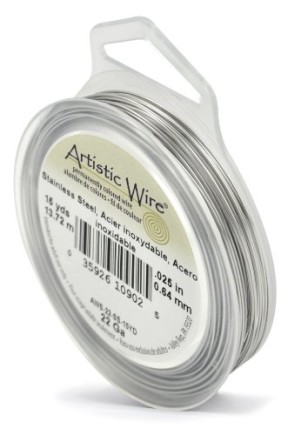 Beadalon-22-Gauge-Artistic-Wire-Stainless-Steel-15-Yard-0
