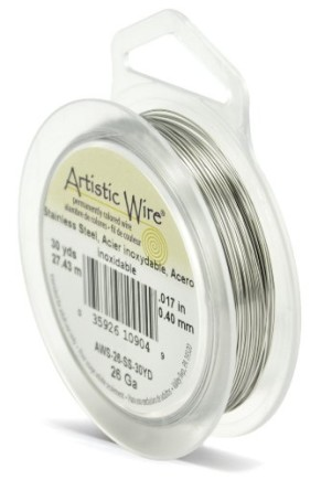 Beadalon-26-Gauge-Artistic-Wire-Stainless-Steel-30-Yard-0