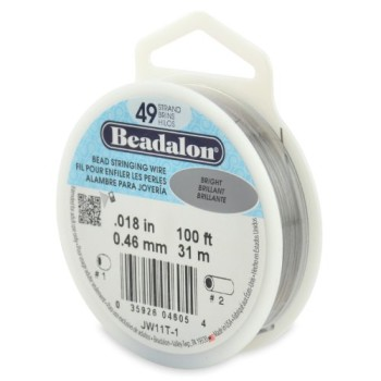 Beadalon-49-Strand-Bead-Stringing-Wire-0.018-Inch-Bright-100-Feet-0