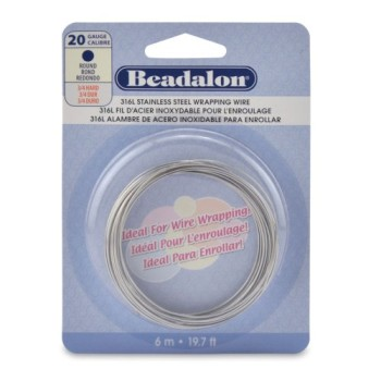 Beadalon-Round-Wire-316L-Stainless-Steel-20-Gauge-6-Meter-0