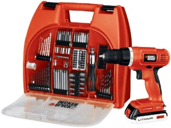Black-Decker-BDC120VA100-20-Volt-MAX-Lithium-Ion-Drill-Kit-with-100-Accessories-0