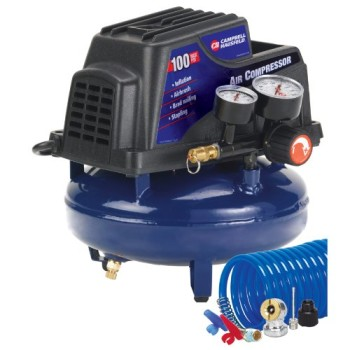 Campbell-Hausfeld-FP2028-1-Gallon-Oil-Free-Pancake-Air-Compressor-with-Accessory-Kit-0
