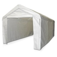 Caravan-Canopy-Side-Wall-Kit-for-Domain-Carport-White-0