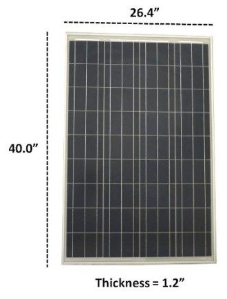 Complete-100-Watt-Solar-Panel-Kit-with-1500W-VertaMax-Power-Inverter-for-RV-Boat-Off-Grid-12-Volt-Battery-Systems-0-0