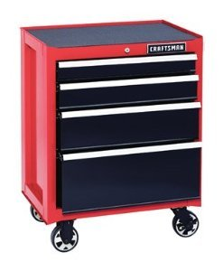 Craftsman-4-Drawer-Heavy-Duty-Rolling-Bottom-Tool-Cabinet-0