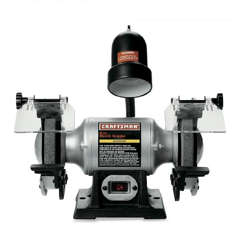 Craftsman-9-21124-16-Horsepower-6-Inch-Bench-Grinder-with-Lamp-0
