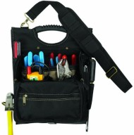 Custom-LeatherCraft-1509-21-Pocket-Zippered-Professional-Electricians-Tool-Pouch-0