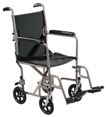 Drive-Medical-Economy-Transport-Chair-19-Inch-Silver-0