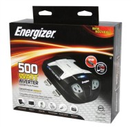ENERGIZER-500W-Power-Inverter-12V-DC-cigarette-lighter-or-battery-clips-to-120-Volt-AC-with-2-USB-ports-2.1A-shared-compatible-with-iPad-iPhone-more-0-1
