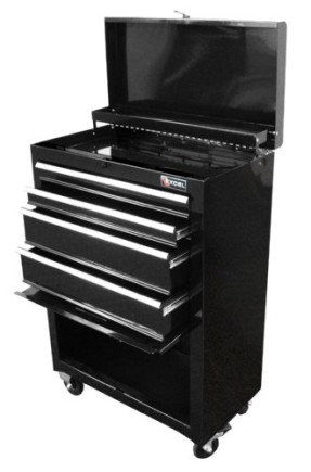 Excel-TB2201X-Black-22-Inch-Steel-Chest-Roller-Cabinet-Combination-Black-0