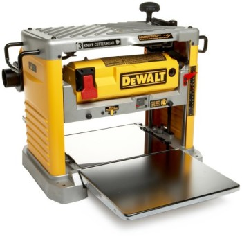 Factory-Reconditioned-DEWALT-DW734R-Heavy-Duty-12-12-Inch-Thickness-Planer-with-3-Knife-Cutter-Head-0