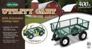 Farm-Ranch-FR110-2-Steel-Utility-Cart-with-Removable-Folding-Sides-and-10-Inch-Pneumatic-Tires-400-Pound-Capacity-34-Inches-by-18-Inches-Green-Finish-0-1