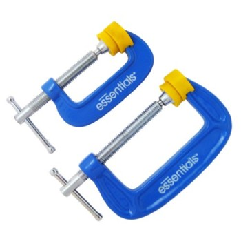 Great-Neck-21012-Essentials-2-Piece-C-Clamp-Set-0