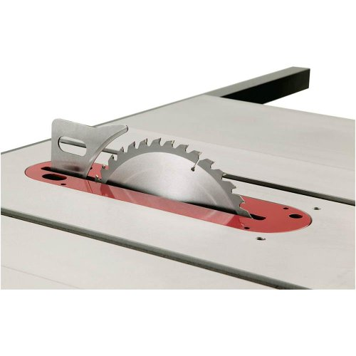 Grizzly G0715p Polar Bear Series Hybrid Table Saw With Riving Knife 10 Inch
