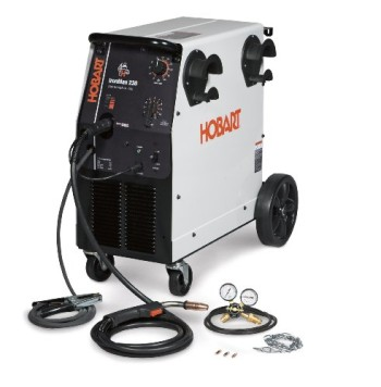 Hobart-500536-Ironman-230-250-Amp-MIG-Welder-With-Wheel-Kit-Cylinder-Rack-0