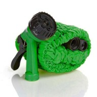InSassy-TM-75-Feet-Expandable-Garden-Water-Hose-Green-with-Spray-Nozzle-0-0