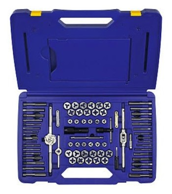 Irwin-Tools-26376-76-Piece-Machine-ScrewFractionalMetric-Tap-and-Hex-Die-Super-Set-0