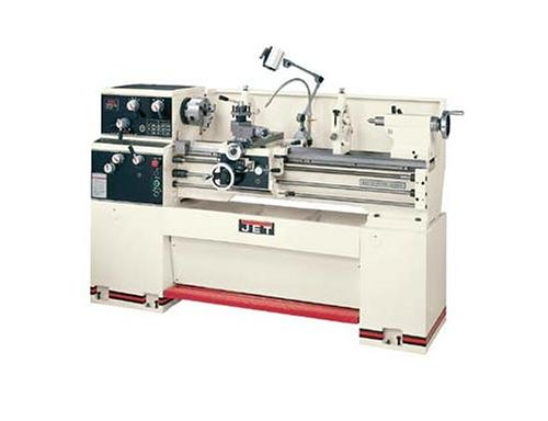 Jet-321830-GH-1440W-1-14-Inch-Swing-by-40-Inch-between-Centers-230-Volt-1-Phase-Geared-Head-Engine-Metalworking-Lathe-0