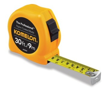 Komelon-4930IM-The-Professional-30-Foot-InchMetric-Scale-Power-Tape-Yellow-0