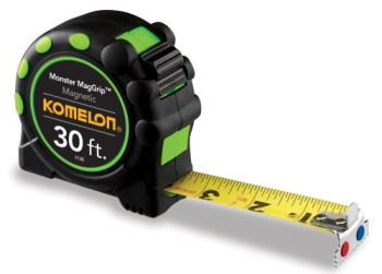 Komelon-7130-Monster-MagGrip-30-Feet-Measuring-Tape-with-Magnetic-End-0