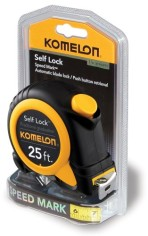 Komelon-SL2925-Self-Lock-Speed-Mark-25-Foot-Power-Tape-0-0