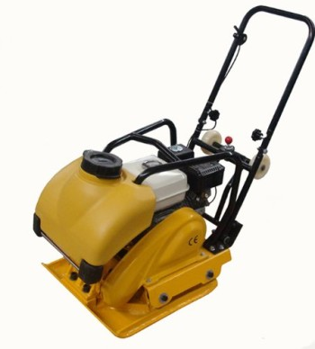 Landscaping-Walk-Behind-Plate-Dirt-Compactor-22.5-x-17-6.5HP-Honda-Motor-with-Water-Tank-and-Wheel-Kit-0