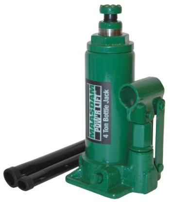 Maasdam-MPL4B-Bottle-Jack-4-Ton-Green-0