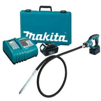 Makita-BVR850-18-Volt-LXT-Lithium-Ion-Cordless-8-Foot-Concrete-Vibrator-Kit-0