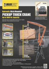 Maxxtow-Towing-Products-70238-Receiver-Hitch-Mounted-Crane-1000-lbs.-Capacity-0-3