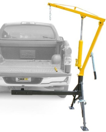 Maxxtow-Towing-Products-70238-Receiver-Hitch-Mounted-Crane-1000-lbs.-Capacity-0