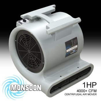 Monsoon-Air-Mover-Blower-by-Summit-Air-1HP-4000+-CFM-Monster-Floor-Carpet-Dryers-0