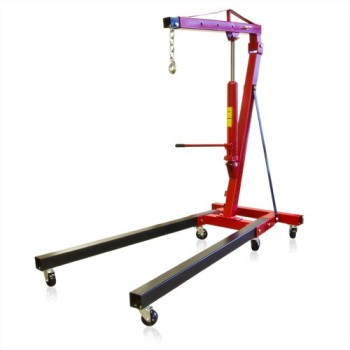 New-2-Ton-Engine-Hoist-Cherry-Picker-Ship-Crane-Folding-Lift-0