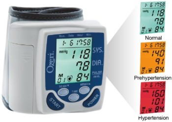 Ozeri-BP2M-CardioTech-Premium-Series-Digital-Blood-Pressure-Monitor-with-Hypertension-Color-Alert-Technology-0