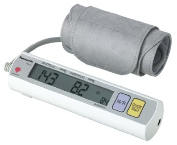 Panasonic-EW3109W-Portable-Upper-Arm-Blood-Pressure-Monitor-WhiteGrey-0