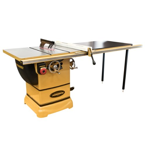 Powermatic pm1000 1791001k table saw 50 inch fence for 99 table saw