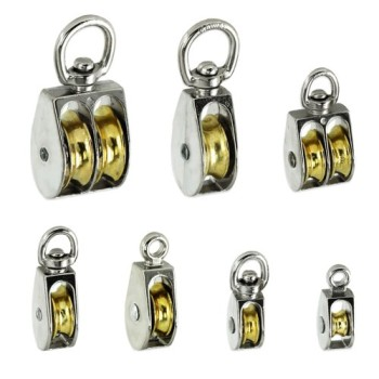Premium-Rope-Pulleys-Choose-from-7-Sizes-Styles-Single-or-Double-Sheave-Taiwan-Pulley-size-1-14-in.-Swivel-eye-0