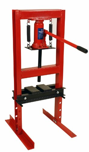 Premium steel 6 ton 12 000 lbs hydraulic bench top shop press with press plates Hydraulic bench press